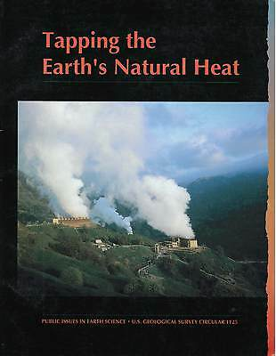 Books on Geothermal Energy, by U.S. Geological Survey (5 USGS  paperbacks)