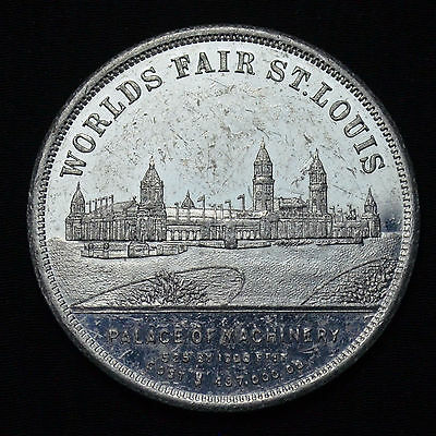 1904 Louisiana Purchase, Palaces Of Machinery & Mines, So-Called Dollar, Hk-320