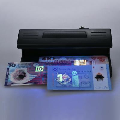 UV Counterfeit Bill Detector Forged Money Fake Polymer Bank Note Checker AU M1J8