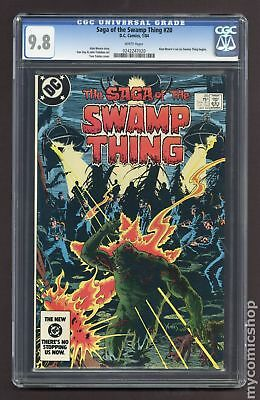Swamp Thing (1982 2nd Series) #20 CGC 9.8 0242247020
