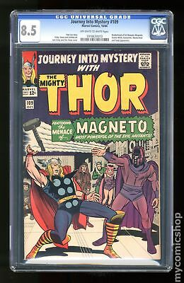 Thor (1962-1996 1st Series Journey Into Mystery) #109 CGC 8.5 1918630013