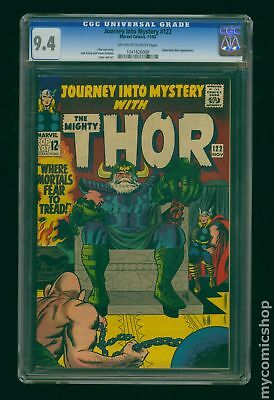 Thor (1962-1996 1st Series Journey Into Mystery) #122 CGC 9.4 1041826008