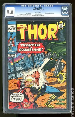 Thor (1962-1996 1st Series Journey Into Mystery) #183 CGC 9.6 1017092008