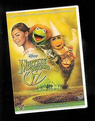 Muppets Wizard of OZ Extended Edition DISNEY (DVD) Jim Henson NEW / Sealed