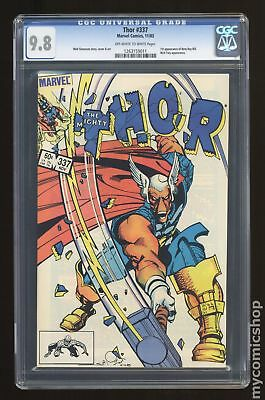 Thor (1962-1996 1st Series Journey Into Mystery) #337 CGC 9.8 1263159011