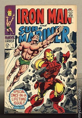 Iron Man and Sub-Mariner (1968) #1 VG+ 4.5