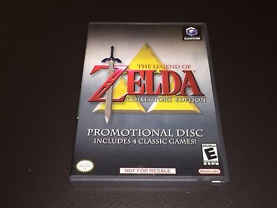 The Legend of Zelda Collector's Edition Nintendo Gamecube Wii Complete CIB