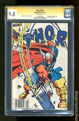 Thor (1962-1996 1st Series Journey Into Mystery) #337 CGC 9.8 SS 1116883006