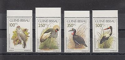 Timbre Stamp  4 Guinee Bissau Y&t#594-97 Oiseau Bird Neuf**/mnh-Mint 1991 ~A61