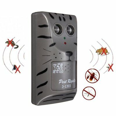 Double Head Ultrasonic Pest Repeller Plug In Pest Rodent Mouse/Mice/Rat/Insect Z