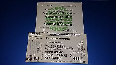 Coventry Away Tickets x2 (All Listed)