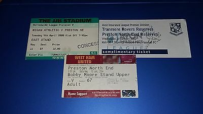 Preston Away Tickets x3 (All Listed)
