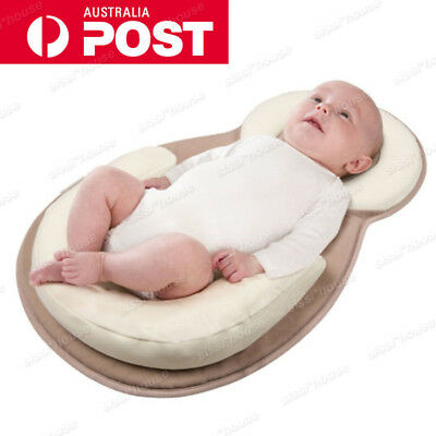 NEW Baby Sleep Positioner Pillow Cushion Anti Roll Sleeper Prevent Head Support