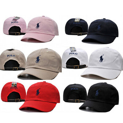 Polo Hat Golf Cap Baseball Strap Men Women Adjustable Hat Unisex One Size