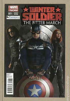 Winter Soldier Bitter March (2014) #1COMICSPRO NM- 9.2