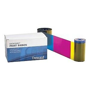 NEW! Datacard 534000-005 Ribbon Black Dye Sublimation Thermal Transfer 1000 Page