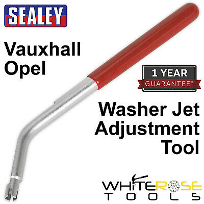 Sealey Windscreen Washer Jet Adjustment Tool Vauxhall Opel Astra Insignia Mokka
