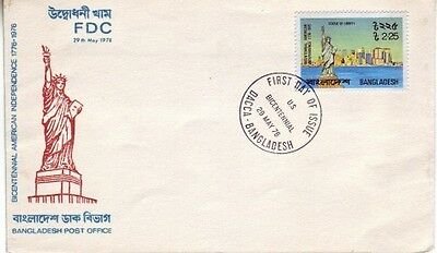 Bangladesh - Bi-centenary of American Independence (PO FDC) 1976
