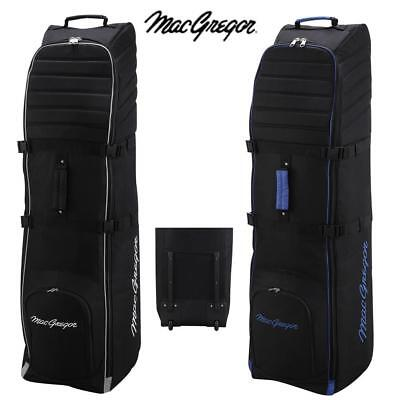Wow! Macgregor Vip Ii New Improved Wheeled Padded Golf Bag Flight Travel Cover