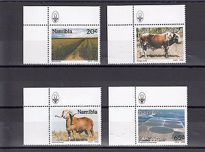 Timbre Stamp  4  Namibie Y&t#636-39 Animal Culture Neuf**/mnh-Mint 1990 ~A62