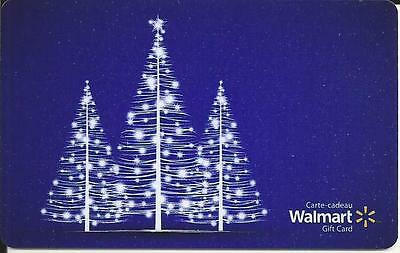 New Christmas 2016 Mint Gift Card From Walmart Canada # 4 Bilingual No Value