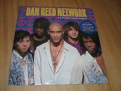 "Dan Reed Network-Lover/money (Mercury12"")Record 2 Of A 2 Record Set,blue Vinyl"