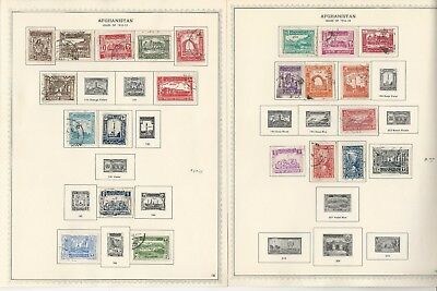 Afghanistan Collection 1932-1969 on 80 Minkus Specialty Pages
