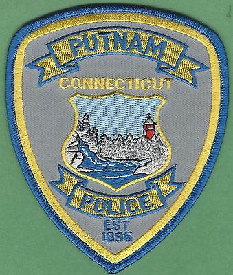Putnam Connecticut Police Patch