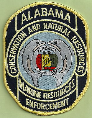 Alabama Marine Resources Conservation Enforcement Police Patch Dolphins