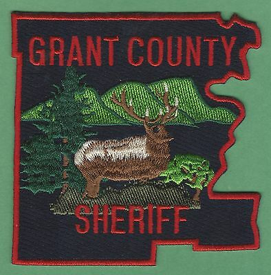 Grant County Sheriff Oregon Police Patch