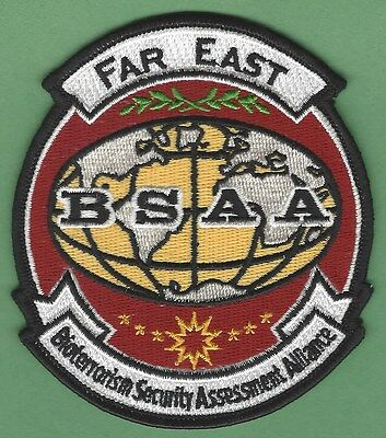 Bsaa Resident Evil Far East Bioterrorism Security Assessment Alliance Patch