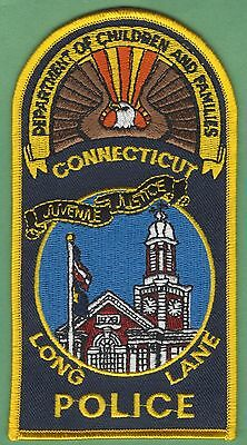Long Lane Connecticut Police Patch