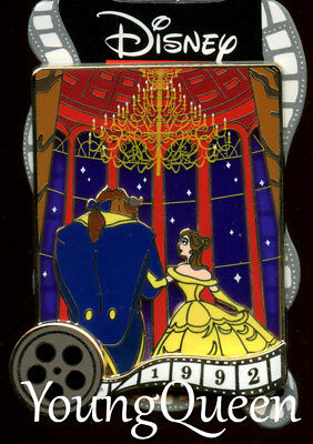DSSH Disney Oscar Winners Movies Series Beauty Beast Belle Film Reel Le 300 Pin