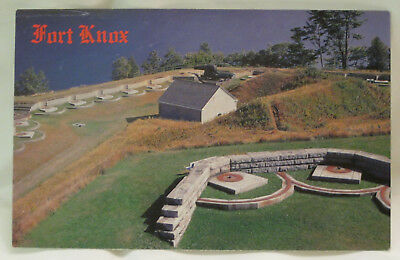 Fort Knox Prospect Maine Postcard