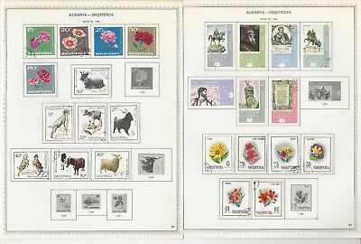 Albania Collection 1913-1971 on Scott Specialty Pages, 102 Pages