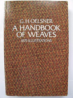 A Handbook Of Weaves By C. H. Oelsner