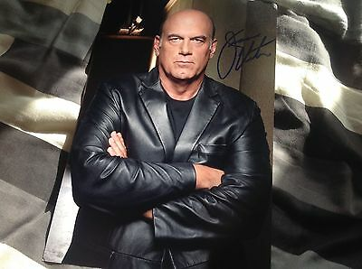 Hand Signed Jesse The Body Ventura 12 X 8 Photo Wwf Conspiracy Theory Legend Coa