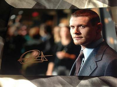 Jack O Connell Hand Signed 12 X 8 Photo Skins Sexy Male Actor Starred Up 71 Coa