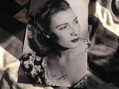 Dame Vera Lynn Forces Sweetheart Hand Signed 12 X 8 Photo Music Legend With Coa
