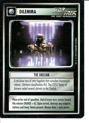 Star Trek Ccg Q Continuum Rare Card The Sheliak