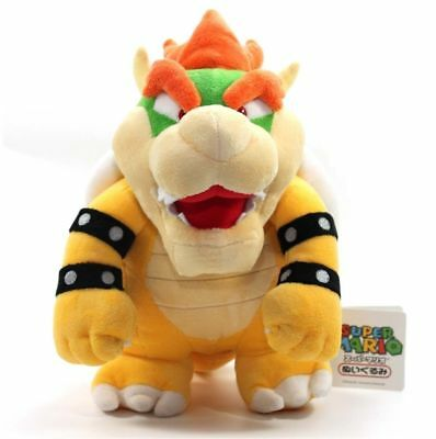 2017 Nintendo Super Mario Brothers Bros Party Bowser 19Cm Stuffed Toy Plush Doll