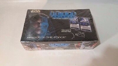 Decipher Star Wars TCG/CCG Jedi Knights Masters of the Force Booster Box