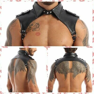 Details about  /Mens Leather  Body Chest Harness Lingerie Strap Underwear Fancy Clubwear Costume