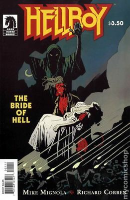 Hellboy Bride of Hell (2009 Dark Horse) #0 VF- 7.5