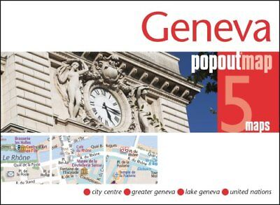Geneva PopOut Map by PopOut Maps 9781910218280 (Sheet map, folded, 2016)