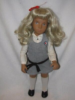 """16"""" Blonde Haired Sasha Doll With England Tag"""