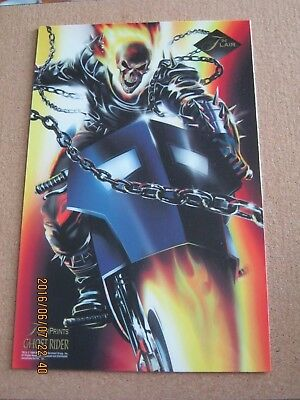 Marvel Flair Prints 1994 Ghost Rider 6 1/2 x 10 - Agents of S.H.I.E.L.D.