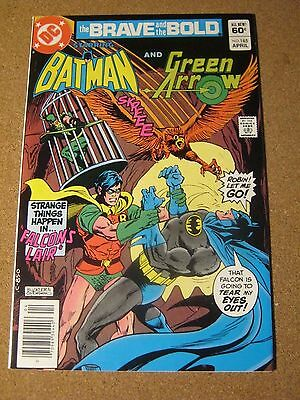 Brave and the Bold #185 March 1982 - Batman and Green Arrow w/ Robin - Nemesis