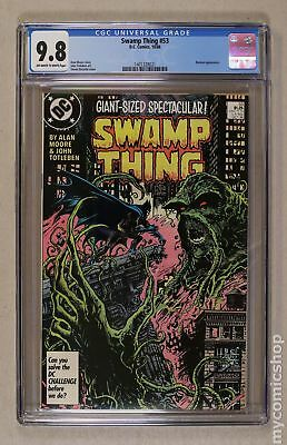 Swamp Thing (1982 2nd Series) #53 CGC 9.8 1401328021