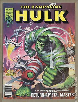 Rampaging Hulk (1977 Magazine) #3 VF- 7.5